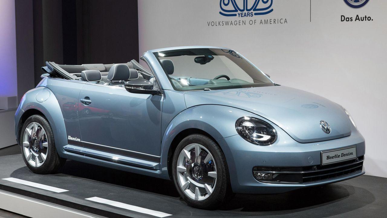Beetle Cabriolet Denim - Bildquelle: Volkswagen AG