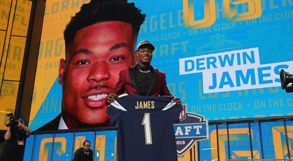 17. Pick - Los Angeles Chargers: S Derwin James - Bildquelle: getty
