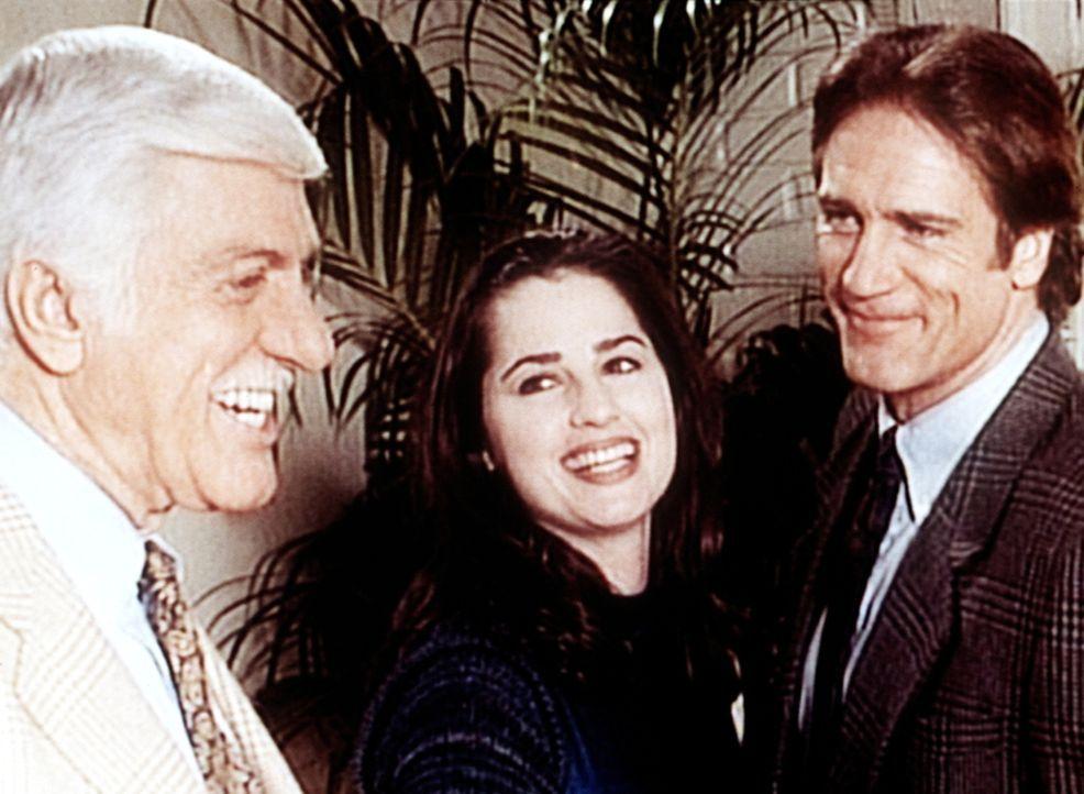 Noch ahnt Steve (Barry Van Dyke, r.) nicht, dass seine Freundin die Mörderin ist. Dr. Sloan (Dick Van Dyke, l.) ist auf der richtigen Spur. - Bildquelle: Viacom