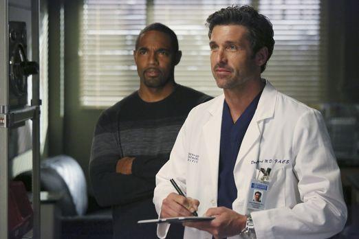 Grey's Anatomy - Halloween steht vor der Tür: Dr. Ben Warren (Jason Winston G...