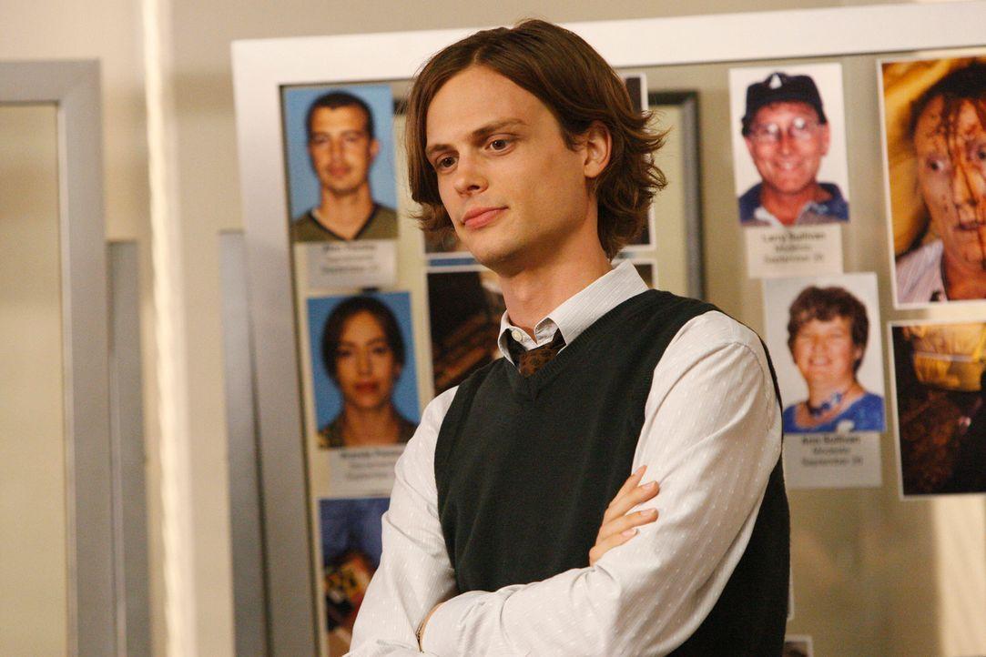 Ein neuer Fall bereitet ihm und seinen Kollegen Kopfzerbrechen: Reid (Matthew Gray Gubler) ... - Bildquelle: Touchstone Television