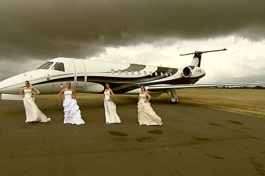 Vier Bräute wollen beweisen, dass ihre Traumhochzeit das Fest der anderen ganz klar in den Schatten stellt. Wer gewinnt, darf mit seinem Bräutigam... - Bildquelle: ITV Studios Limited 2012
