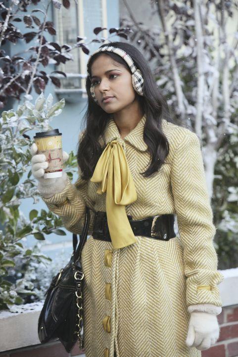 Rebecca Logan (Dilshad Vadsaria) hat das Gefühl, dass Evan sein Jurastudium wichtiger ist, als seine Beziehung mit ihr ... - Bildquelle: 2011 Disney Enterprises, Inc. All rights reserved.