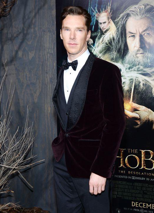 The-Hobbit-Premiere-LA-Benedict-Cumberbatch-131202-2-getty-AFP - Bildquelle: getty-AFP