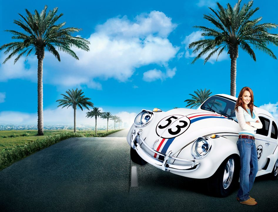 Maggie Peyton (Lindsay Lohan) hofft, dass ihr Vater Ray ihr nach dem erfolgreichen Collegeabschluss ein schnelles Auto schenken wird. Doch stattdess... - Bildquelle: Walt Disney Pictures