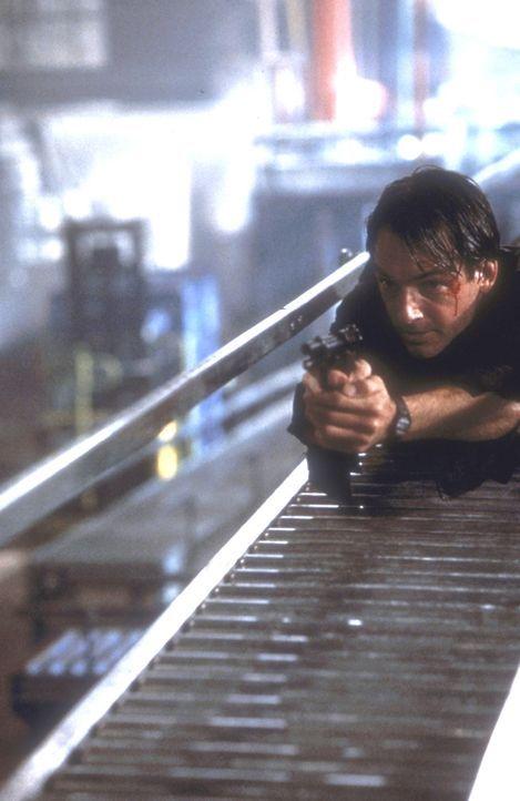 Auf der Jagd nach dem brutalen Mörder, riskiert Jay Austin (Mark Harmon) Kopf und Kragen ... - Bildquelle: Paramount Pictures