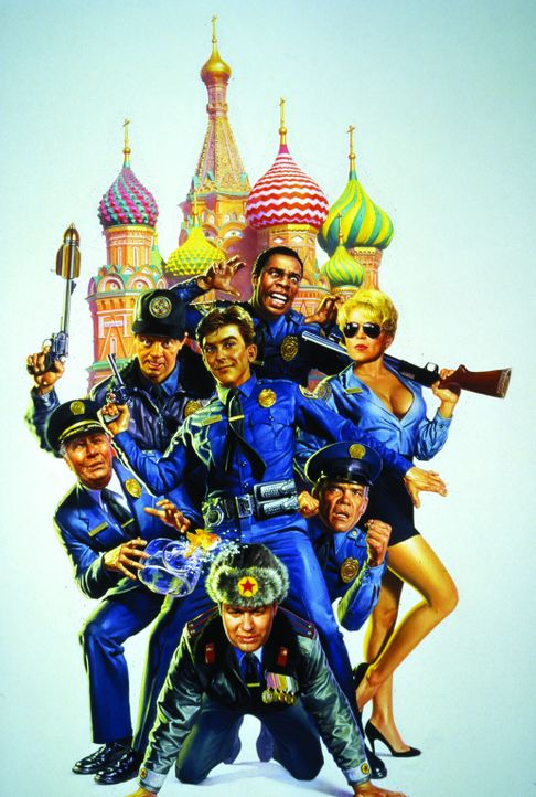 POLICE ACADEMY 7 - MISSION IN MOSKAU - Artwork - Bildquelle: Warner Bros.