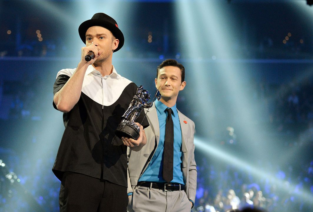 MTV-Music-Video-Awards-Justin-Timberlake-Joseph-Gordon-Levitt-130825-2-getty-AFP.jpg 2000 x 1358 - Bildquelle: getty-AFP