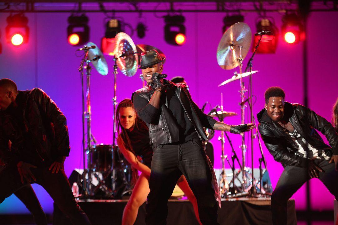 Das Konzert von Ne-Yo (M.) wird ein großer Erfolg! - Bildquelle: 2012 The CW Network. All Rights Reserved.