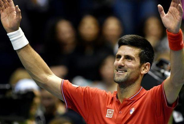 Djokovic war der einzige Top Ten-Spieler in Runde Eins