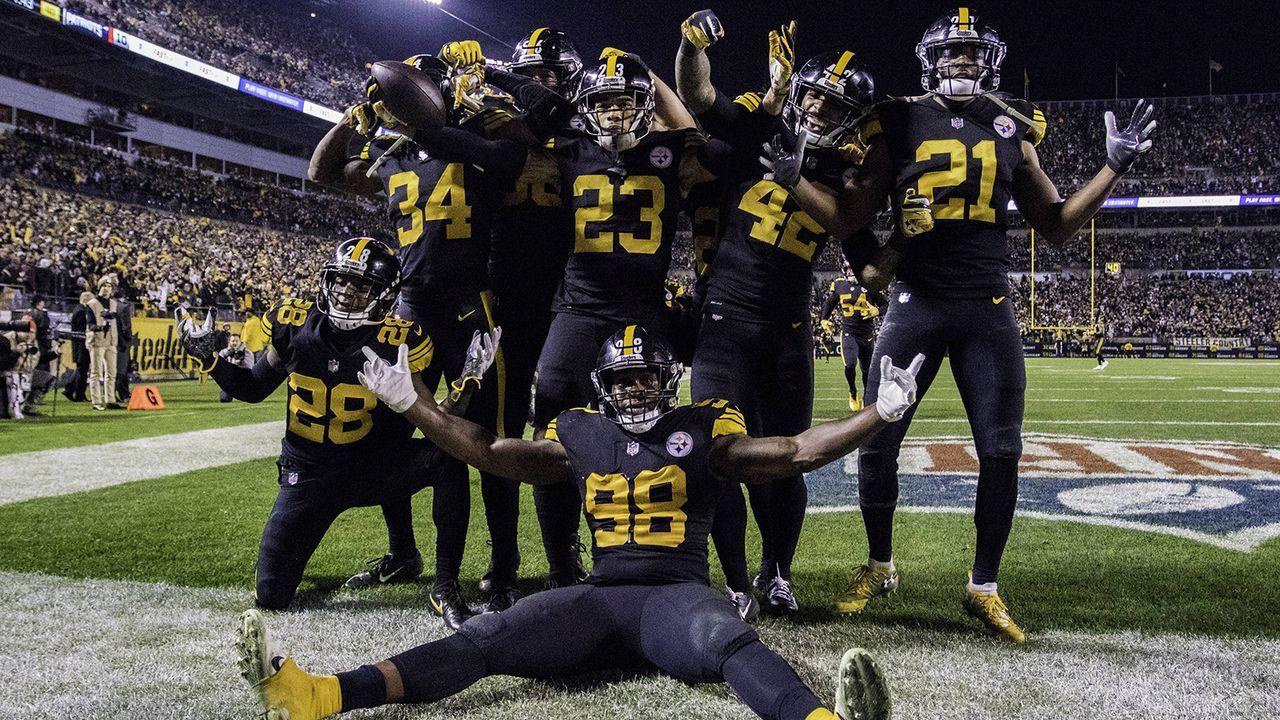 Platz 7: Pittsburgh Steelers (8-5-1, Vorwoche: nicht vertreten) - Bildquelle: imago/Icon SMI