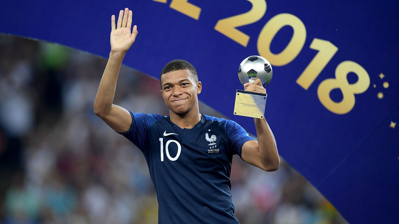 Best Young Player: Kylian Mbappe (Frankreich) - Bildquelle: 2018 Getty Images