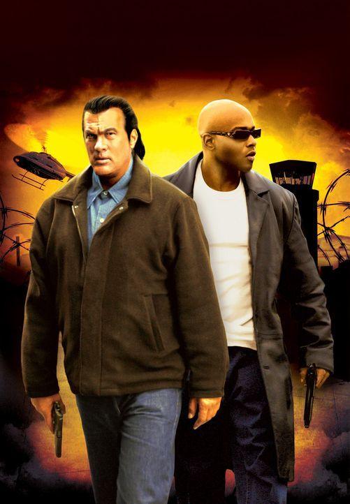 Nachdem er von seinem Auftraggeber ausgetrickst wurde, gelingt Meisterdieb Harlan (Steven Seagal, l.) mit Hilfe des Ghetto-Gangsters Ice Kool (Antho... - Bildquelle: Nu Image