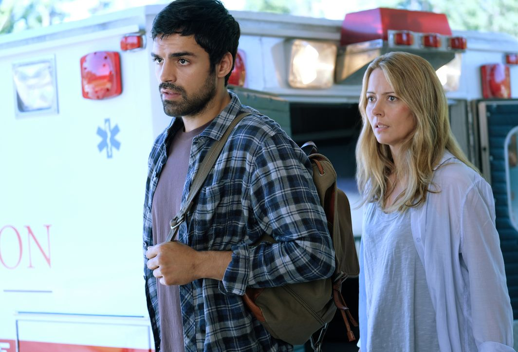 Marcos Diaz (Sean Teale, l.); Kate Strucker (Amy Acker, r.) - Bildquelle: 2017 Fox and its related entities.  All rights reserved.  MARVEL TM &   2017 MARVEL