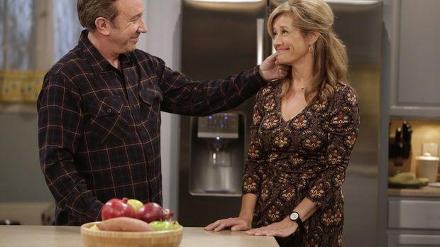 Als Mike (Tim Allen, l.) erfährt, dass Vanessa (Nancy Travis, r.) seine letzt...