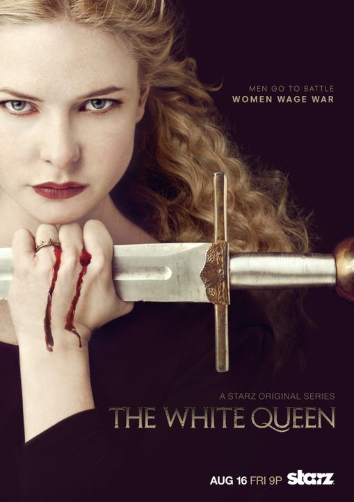 """WHITE QUEEN"" - Plakatmotiv - Bildquelle: 2013 Starz Entertainment LLC, All rights reserved"