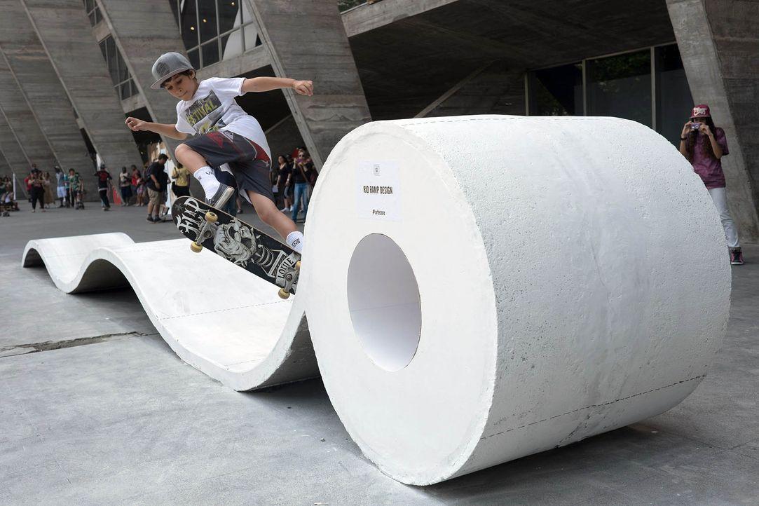 Arte Core - Rio de Janeiro - Bildquelle: AFP PHOTO / YASUYOSHI CHIBA