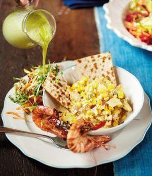 Fischsuppe mit Schellfisch & pikanten Riesengarnelen