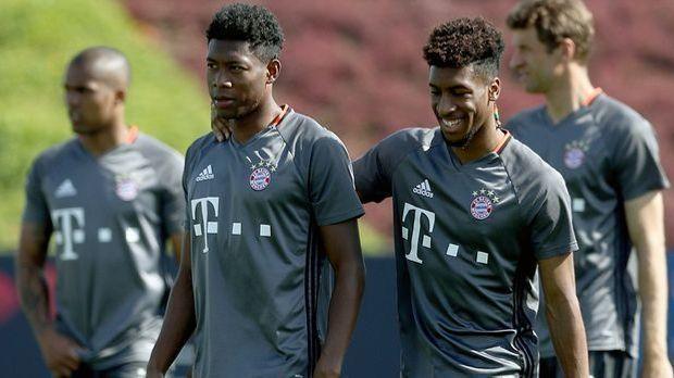 Vorbereitung FC Bayern München