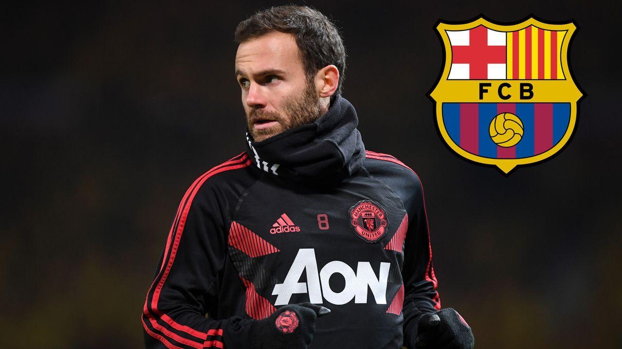 Juan Mata (Manchester United) - Bildquelle: Getty Images