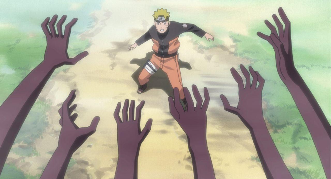 Naruto und seine Freund müssen den Kampf gegen eine Gruppe fliegender Ninjas aufnehmen, die auf dem Weg ins Feuer-Reich sind, um das kleine Dorf Kon... - Bildquelle: 2002 MASASHI KISHIMOTO /2007 Shippuden   NMP 2008