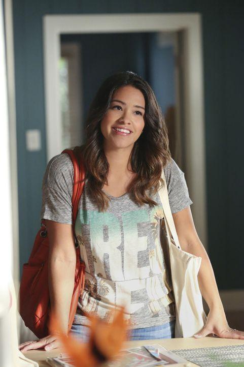 Aus Wut über ihre Mutter zieht Jane (Gina Rodriguez) zu ihrem Verlobten Michael. Doch das Zusammenleben läuft anders, als sie es sich vorgestellt ha... - Bildquelle: 2014 The CW Network, LLC. All rights reserved.