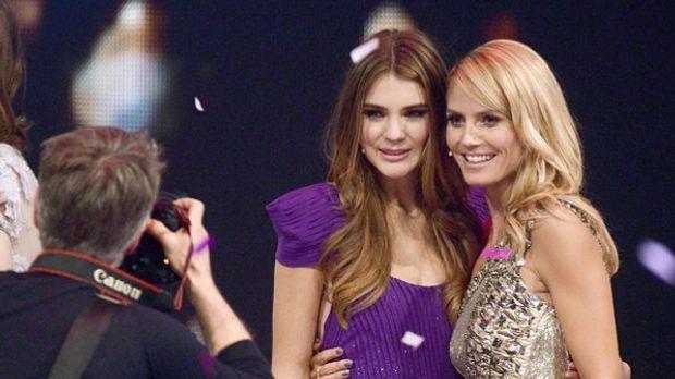 """""""Germany's next Topmodel 2014""""-Gewinnerin Stefanie: """"Sie ist s..."""