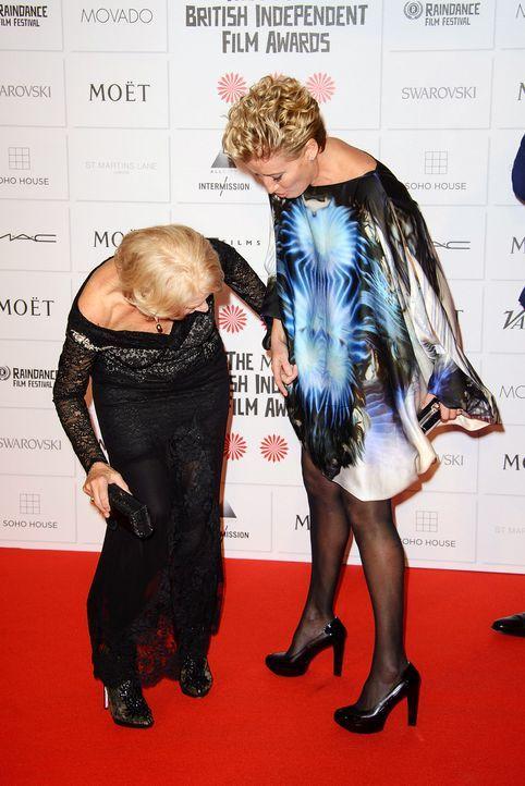 British-Independent-Film-Awards-Helen-Mirren-Emma-Thompson-141207-Joe-WENN - Bildquelle: Joe/WENN