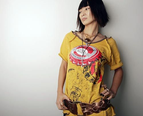 Galerie: Bai Ling, die provokante Exotin - Bildquelle: getty - AFP