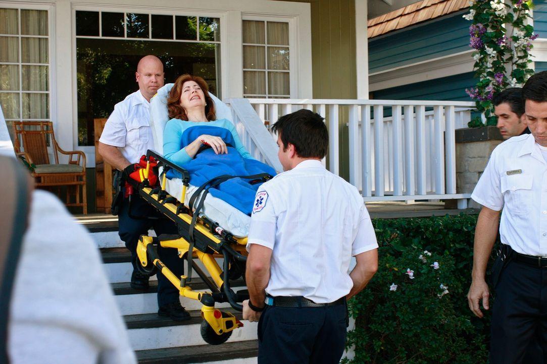 Wird Katherines (Dana Delany, liegend) Racheplan aufgehen? - Bildquelle: ABC Studios