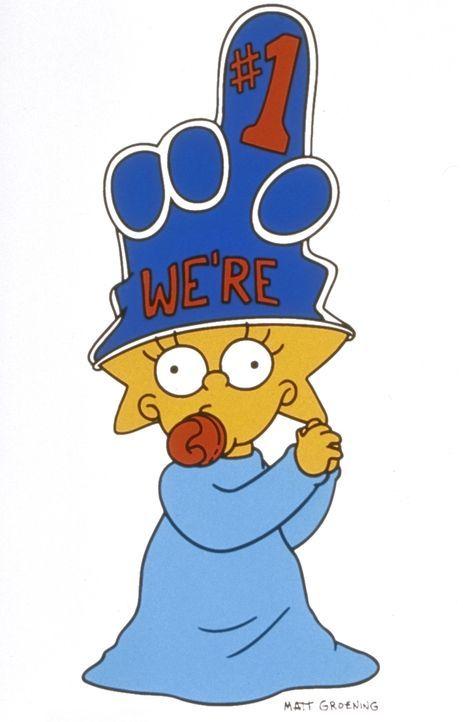 (11. Staffel) - Das jüngste Mitglied der Familie Simpson ist die kleine Maggie. - Bildquelle: und TM Twentieth Century Fox Film Corporation - Alle Rechte vorbehalten