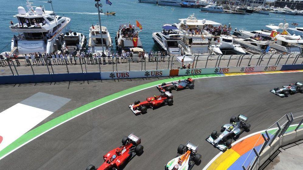 Formel 1 - Ermittlungen wegen Korruption im Rahmen der Valencia ...