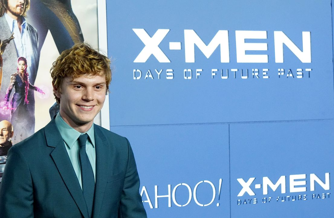 X-Men-Days-of-Future-Past-Premiere-New-York-Evan-Peters-140510-getty-AFP - Bildquelle: getty-AFP