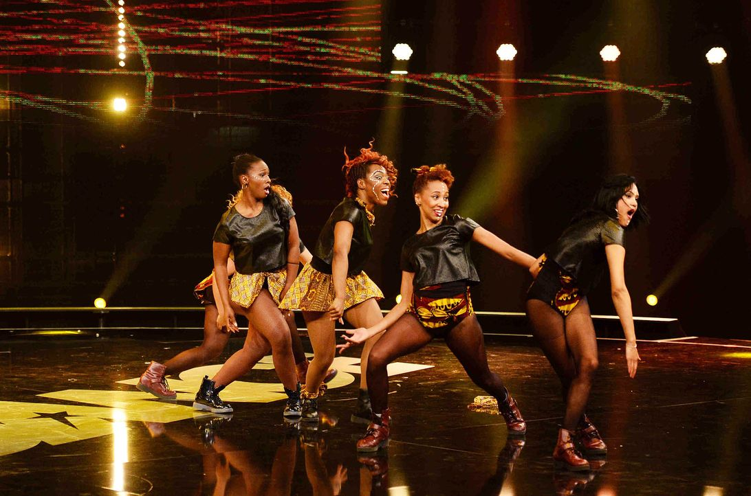 Got-To-Dance-Afro-Flavour-03-SAT1-ProSieben-Willi-Weber - Bildquelle: SAT.1/ProSieben/Willi Weber