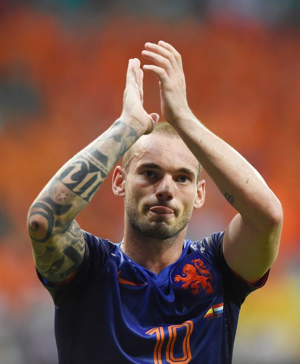 FIFA-World-Cup-Wesley-Sneijder-14-06-13-AFP - Bildquelle: AFP