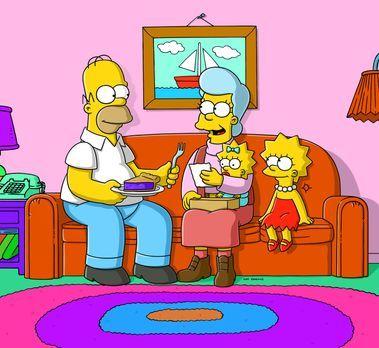 Die Simpsons - Die Simpsons stellen erschreckend fest, dass jemand in ihr Hau...