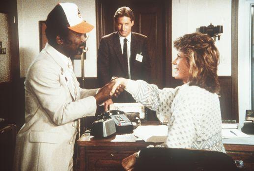Agentin mit Herz - Shamba (Garrett Morris, l.), Polizeichef des Landes Estocc...