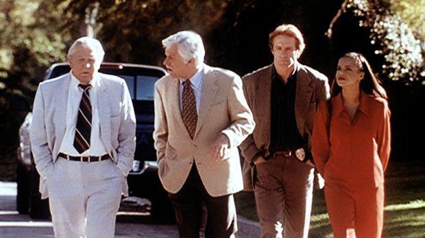 (v.l.n.r.) Matlock (Andy Griffith), Mark Sloan (Dick Van Dyke), Steve (Barry...