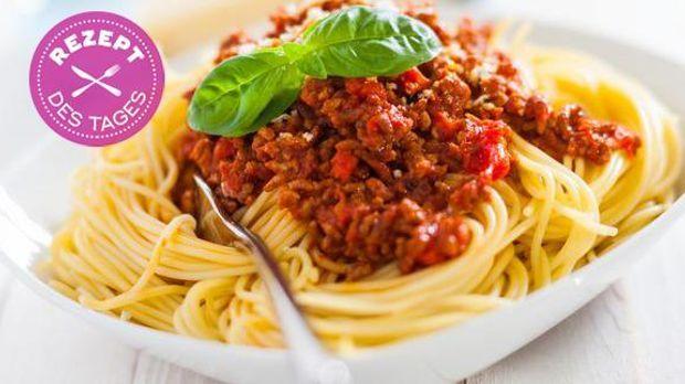 spaghetti bolognese sat 1 ratgeber. Black Bedroom Furniture Sets. Home Design Ideas