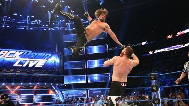 AJ Styles Sammie Zayn