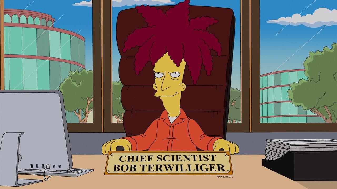 Ein Schock für die Simpsons: Tingeltangel-Bob ist Chef des Forschungszentrums der Lebensmittelfirma Monsamo ... - Bildquelle: 2013 Twentieth Century Fox Film Corporation. All rights reserved.