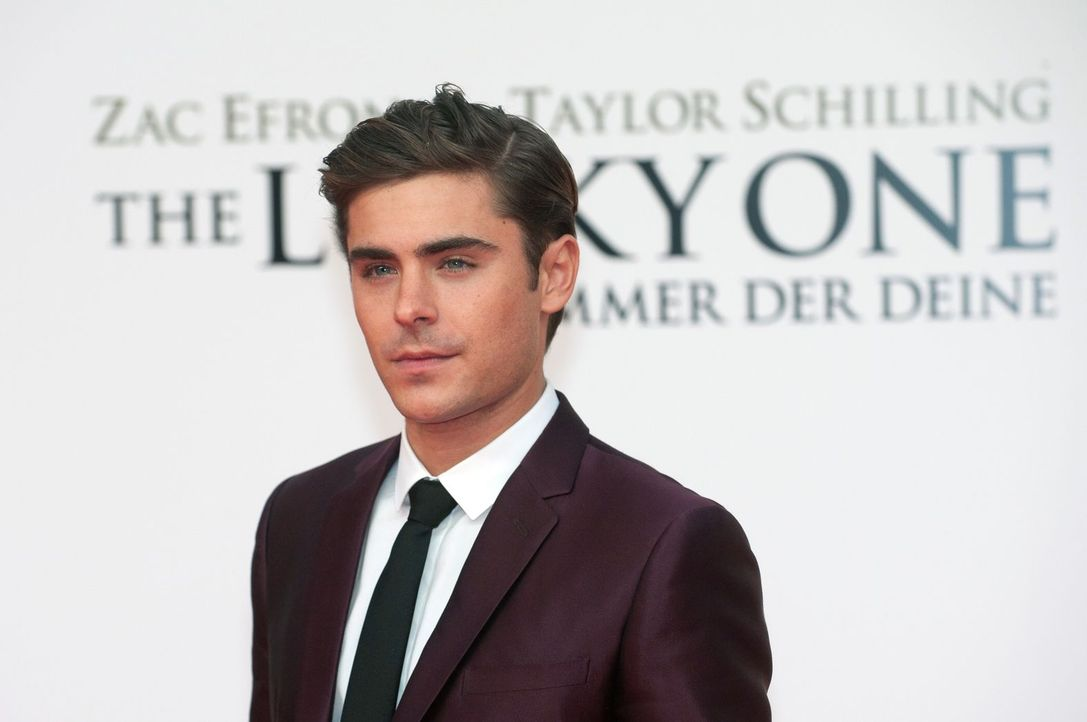 premiere-the-lucky-one-zac-efron-001 - Bildquelle: dpa