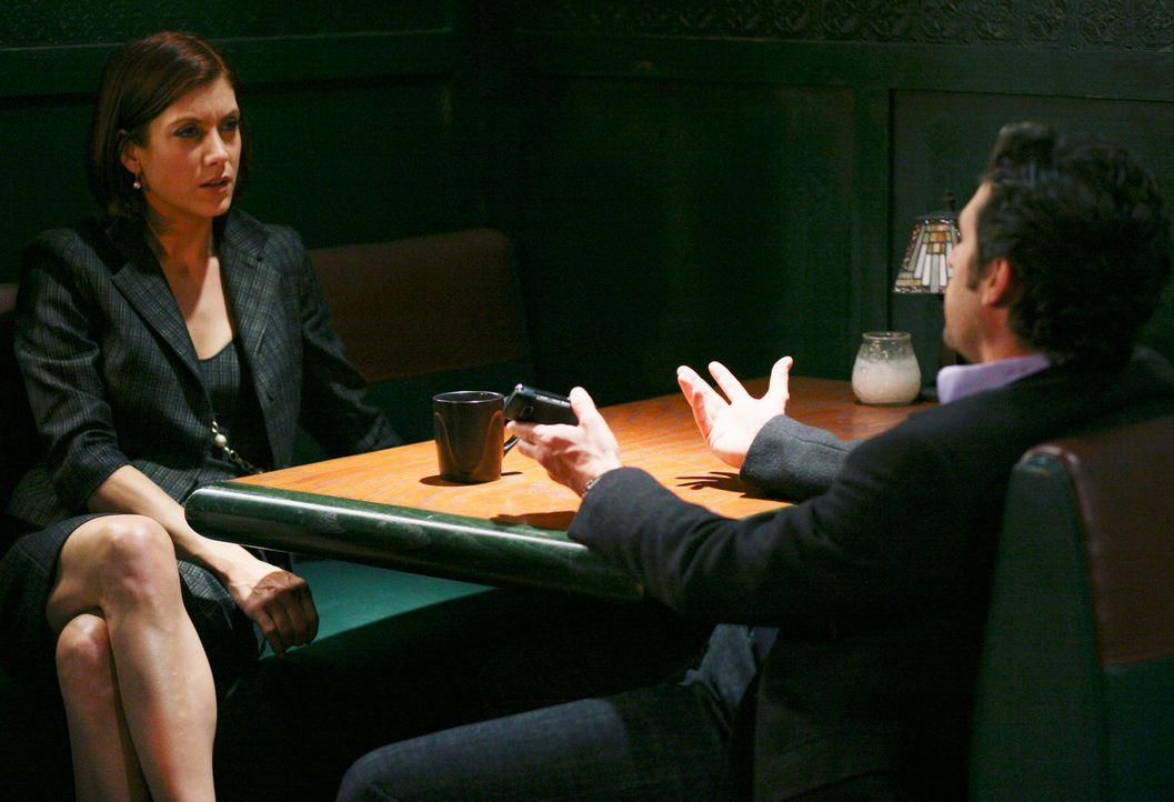 Freuen sich über ein Wiedersehen: Addsion (Kate Walsh, l.) und Derek (Patrick Dempsey, r.) ... - Bildquelle: ABC Studios
