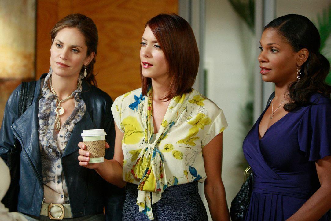 Während Violet (Amy Brenneman, l.), Naomi (Audra McDonald, r.) und Addison (Kate Walsh, M.) entsetzt sind, weil die Eröffnung von Charlottes Praxis... - Bildquelle: ABC Studios