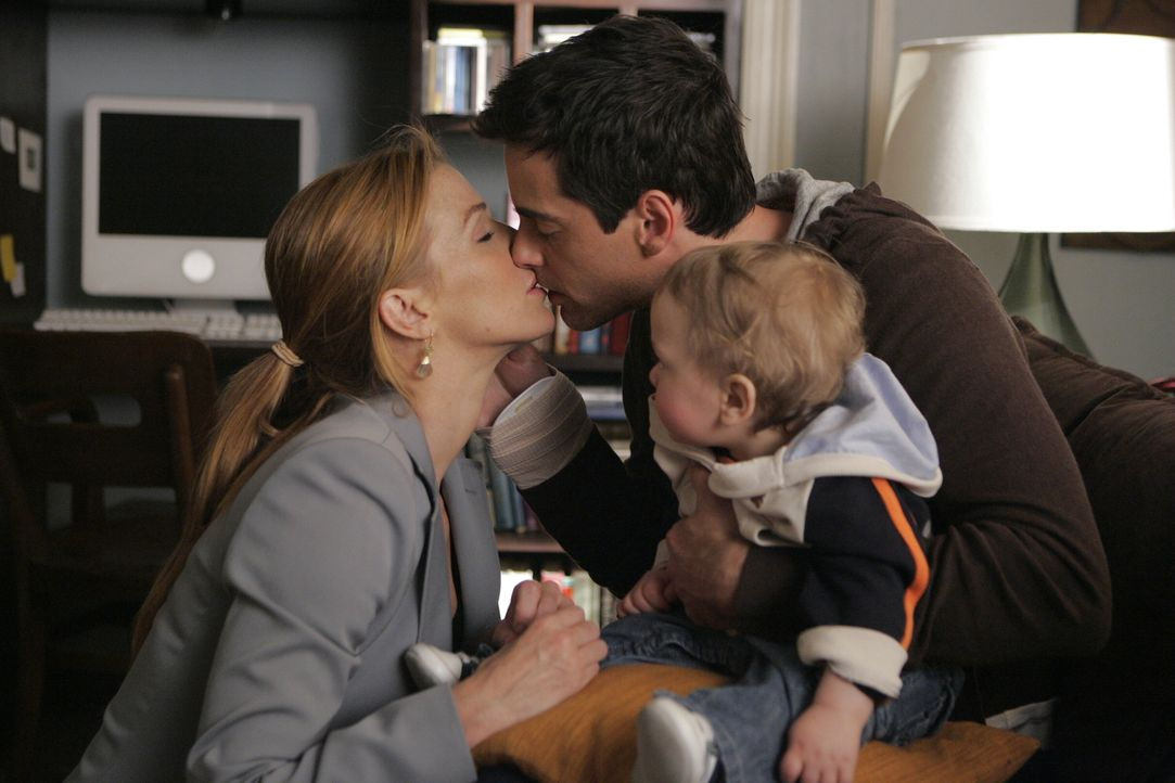 Ist der Konflikt zwischen Samantha (Poppy Montgomery, l.) und Brian (Adam Kaufman, r.) wirklich wieder gelöst? - Bildquelle: Warner Bros. Entertainment Inc.