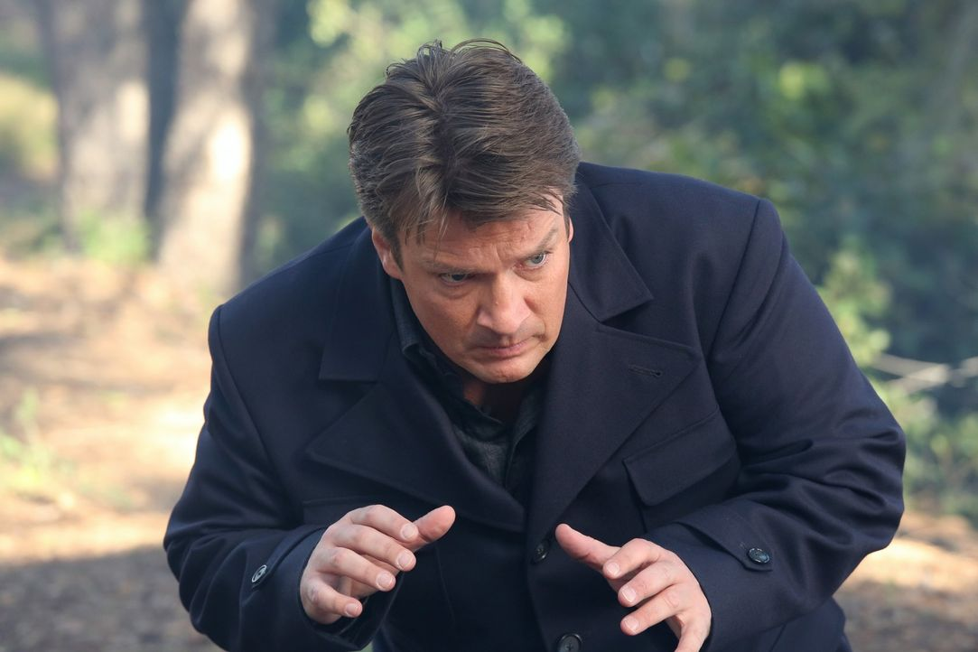 Wird Richard Castle (Nathan Fillion) seine Tochter jemals wiedersehen? - Bildquelle: 2013 American Broadcasting Companies, Inc. All rights reserved.