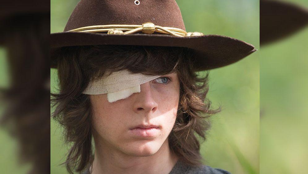 The Walking Dead Staffel 7 Carl Auf Selbstmörderischem Trip