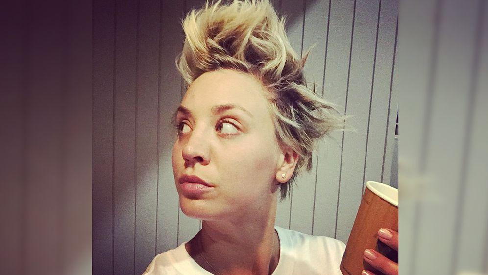 The Big Bang Theory Staffel 8 Kaley Cuoco Fragte Um Erlaubnis Für