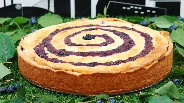 """Mein bester Kuchen – Matthias' """"Wolfsburg Blueberry Cheesecake"""""""