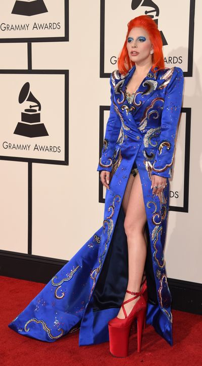 Grammy 2016: Lady Gaga - Bildquelle: VALERIE MACON / AFP